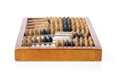Ábaco de madera viejo Imagen de archivo libre de regalías