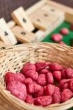 Ábaco de Montessori para contar fotos de stock royalty free