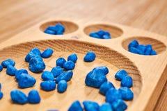 Ábaco de Montessori para contar foto de stock royalty free