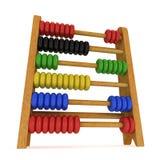 ábaco do brinquedo 3d Fotografia de Stock Royalty Free
