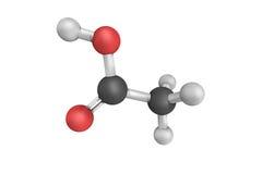 Ácido acético, sistemáticamente nombrado ácido ethanoic, componente principal ilustración del vector