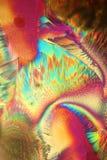 Ácido ascórbico cristalizado fotografía de archivo libre de regalías
