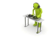 Ácido DJ Foto de Stock