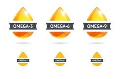 Ácidos grasos de Omega Imagen de archivo libre de regalías