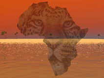 África Imagen de archivo