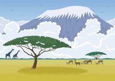 África ilustración del vector