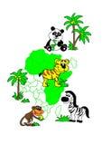 África Foto de Stock Royalty Free