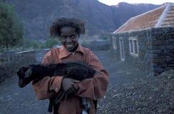 ÁFRICA CABO VERDE FOGO Imagens de Stock Royalty Free