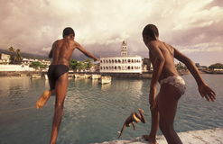 ÁFRICA COMORES Foto de Stock