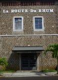 África, el pueblo pintoresco de Pamplemousses en Mauricio imagenes de archivo
