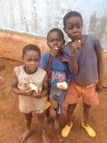 África embroma el pan Imagenes de archivo