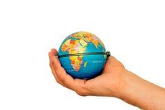 África está em nossas mãos Imagens de Stock Royalty Free