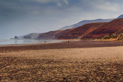 África, Marocco, costa de Agadir Fotos de Stock Royalty Free