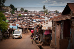 África, Sierra Leone, Freetown Foto de archivo