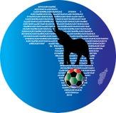 África WorldCup 2010 Imágenes de archivo libres de regalías