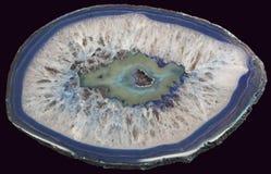 Ágata azul Fotos de archivo