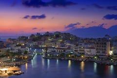 Ágios Nikolaos Imagens de Stock Royalty Free