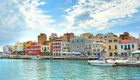 Ágios Nikolaos Crete, Greece Imagens de Stock Royalty Free