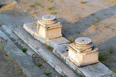 Ágora antiga de Atenas Foto de Stock Royalty Free