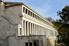 Ágora antiga de Atenas Imagens de Stock