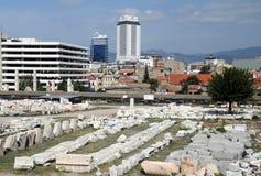 Ágora antiga em Izmir Imagem de Stock