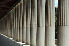 Ágora antiguo de Atenas Fotos de archivo