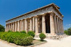 Ágora antiguo en Atenas Foto de archivo libre de regalías