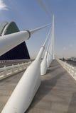 Ágora los artes y las ciencias Valencia de la ciudad Fotos de archivo libres de regalías