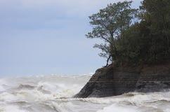 Água áspera Imagem de Stock