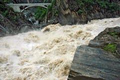 Água áspera Imagens de Stock
