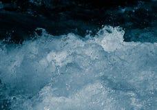Água áspera como o fundo Imagens de Stock
