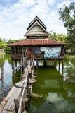 A água é templo muito velho Imagem de Stock