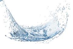 Água abstrata, respingo imagens de stock royalty free