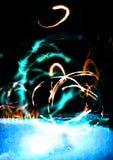 Água & incêndio Imagem de Stock