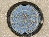 A água assina mmoído dentro Imagem de Stock Royalty Free