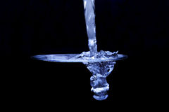 Água azul Fotografia de Stock Royalty Free
