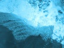 Água azul Fotos de Stock Royalty Free