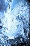 Água azul fotografia de stock