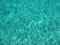 Água azul Imagem de Stock Royalty Free