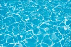 Água azul Imagens de Stock Royalty Free