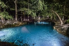 Água azul foto de stock royalty free