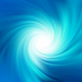 Água azul do twirl da rotação. EPS 8 Fotos de Stock Royalty Free