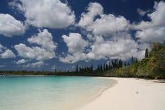 Água azul e céu Fotos de Stock Royalty Free