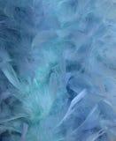 Água azul e fundo do borrão da pena ilustração royalty free