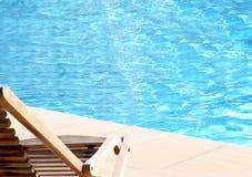 Água azul na associação Foto de Stock