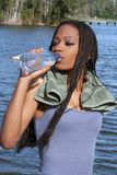 Água bebendo 2 Foto de Stock