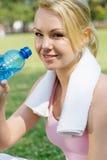 Água bebendo Imagem de Stock