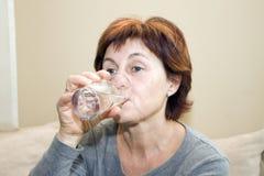 Água bebendo Imagens de Stock