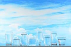 Água bebendo imagem de stock royalty free