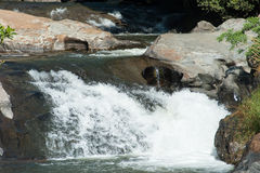 Água branca Foto de Stock